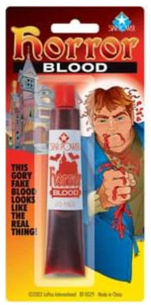 Fake Blood Plasma Standard Vial Makeup Accessory 10286
