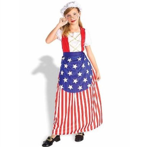 Betsy Ross Child Costume