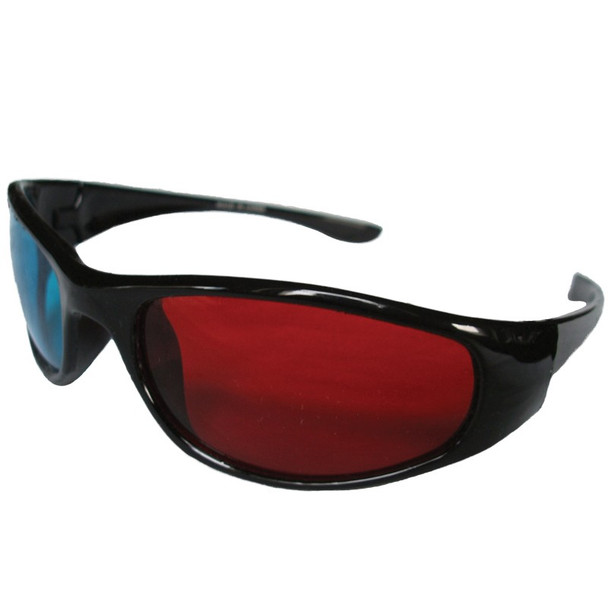 3D Anaglyph Glasses Wraparound Red and Blue 12 PACK 1170D
