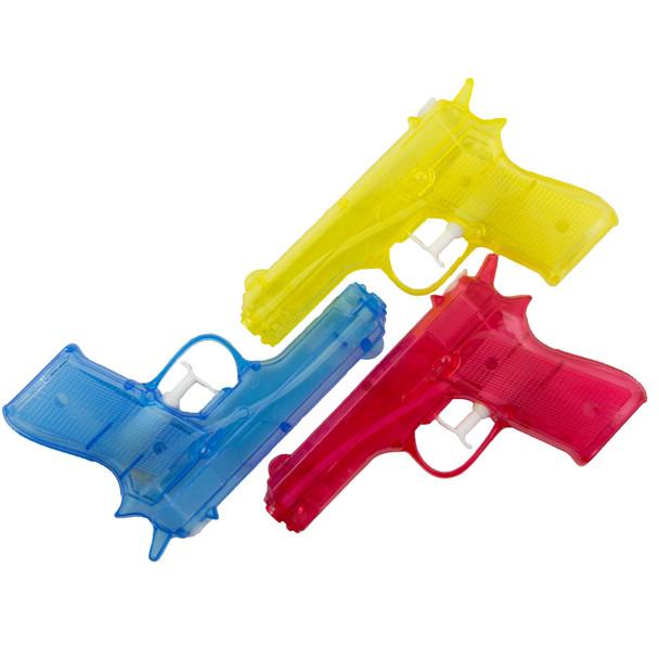 """6"""" Water Guns Squirter Dozen 3380"""