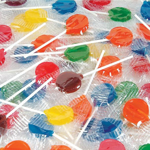 Lollipops Assorted Fruit Bulk 140 Pieces 11075