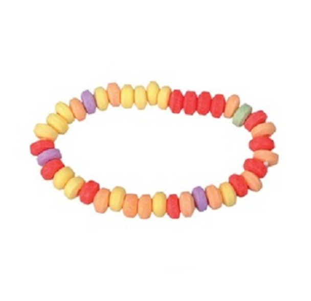Candy Necklace Wrapped 24 Count 11078