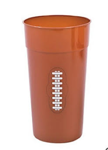 Football Party Plastic Cups 12 PACK 3841D