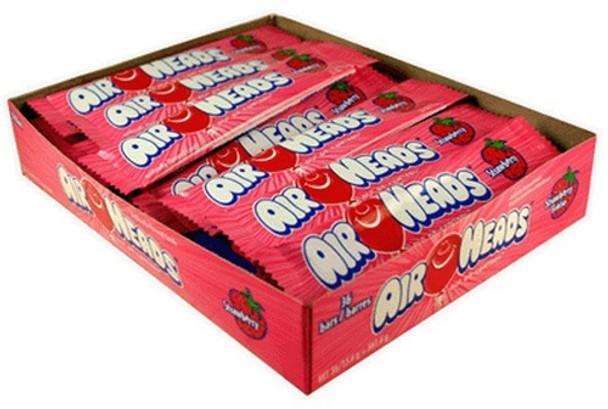 Airheads Strawberry Bar Bulk 36 Count 11011