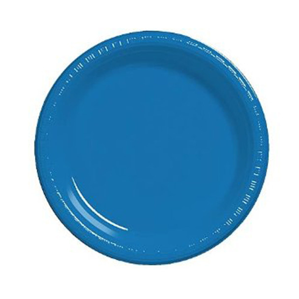 "Blue Party Paper Plates  100"" 20 Pack 3862"