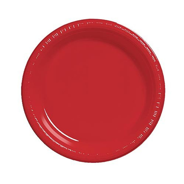 """Red Party Paper Plates  9"""" 20 Pack 3857"""