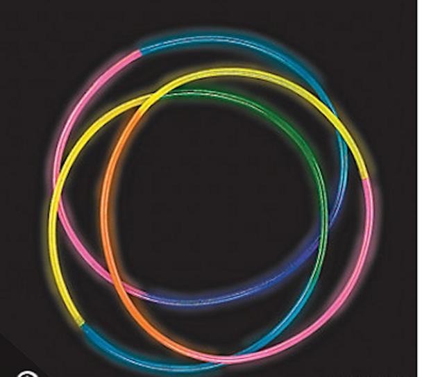 Green Glow Necklaces Tube 50 pcs 12026
