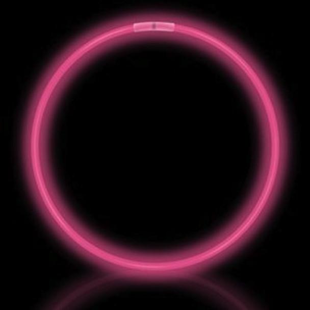Pink Glow Necklaces Tube 50 pcs 12027
