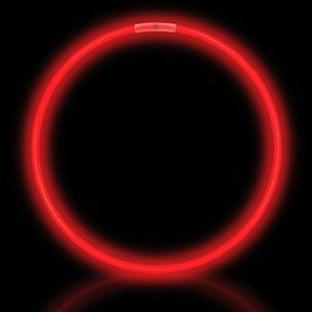 Red Glow Necklaces Tube 50 pcs 12028