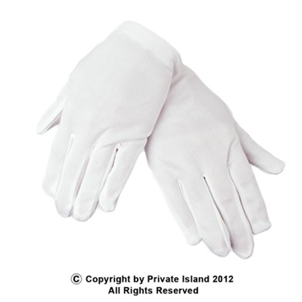 Adult White Gloves 12 PACK PAIR 5023 5032D