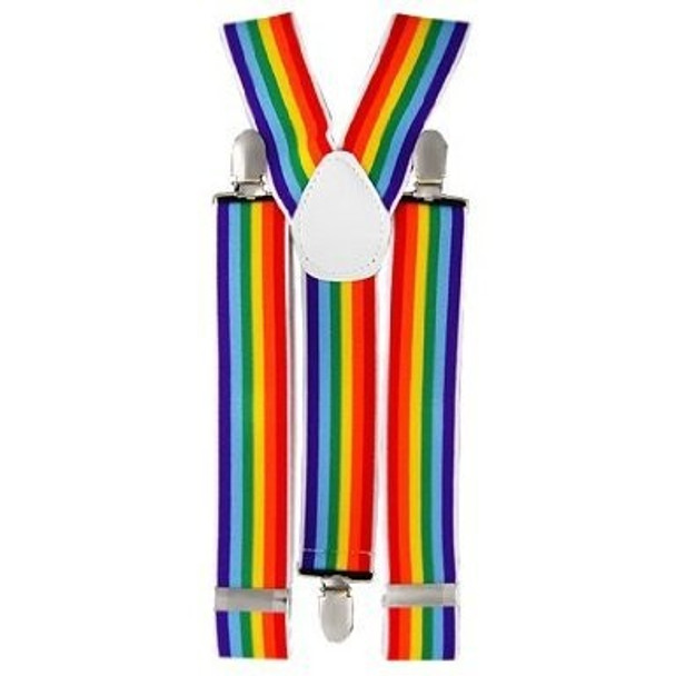 Gay Pride Suspenders 1290F