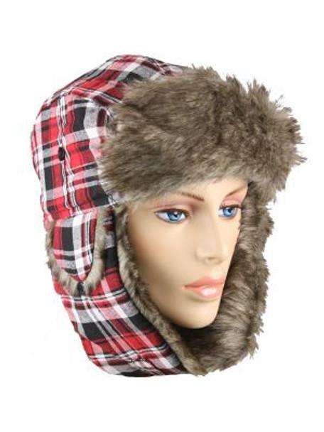 Eskimo Hats | Trapper Hats  | Gray Fur 5+ Colors 5830-5835 12 PACK