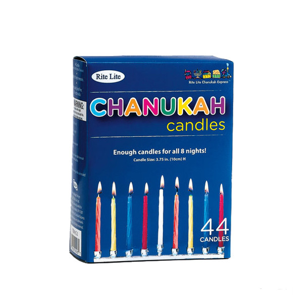 Chanukah Candles- Multicolored 9200