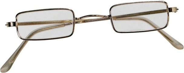 Square Santa glasses