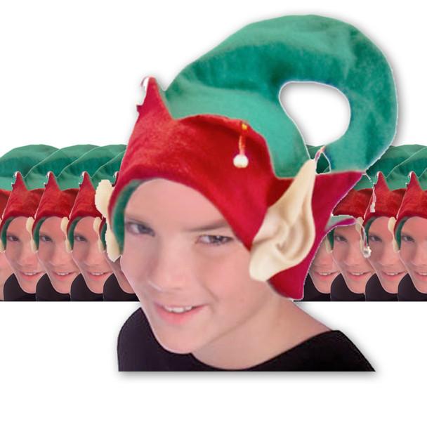 Bulk Elf Hats Child 1576D