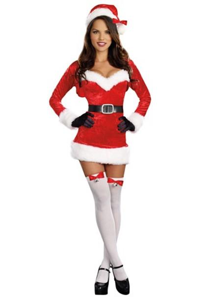 Sexy Santa Baby Costume 8602XS-8602XL
