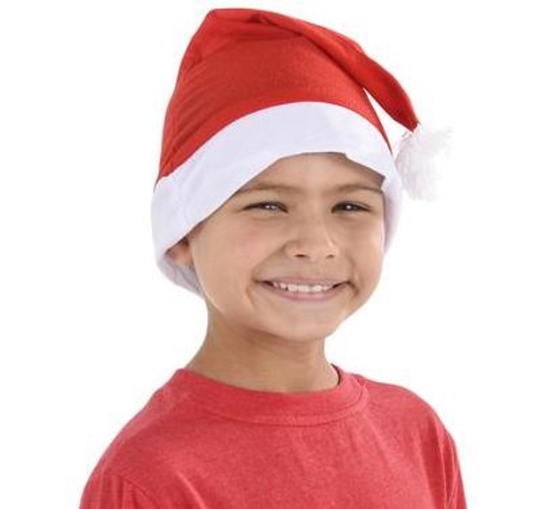 Child Santa Claus Hat 12 PACK 1577