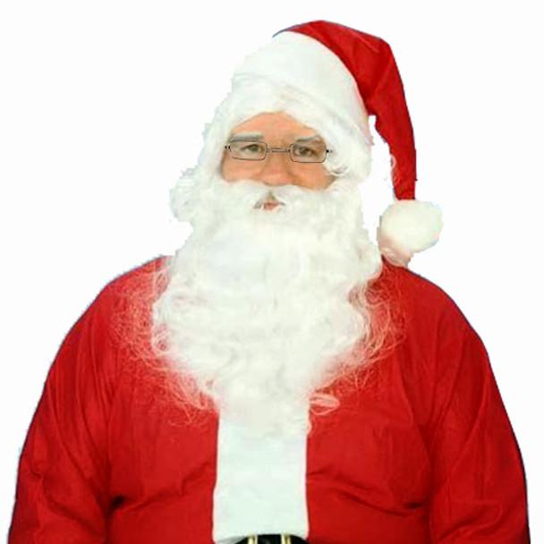 Santa Hat, Beard, Wig & Glasses 8604