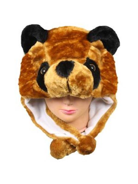 Brown Bear Hat Animal Hood 5501