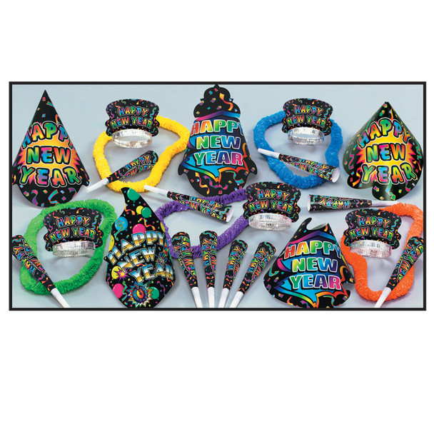 New Years New Yorker Party Favors 3890