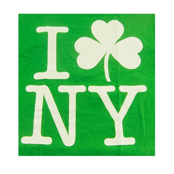 I Love NY Shamrock Shirt 8501