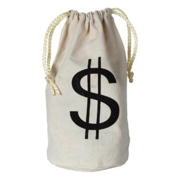 Money Favor Bags $ Loot Bags 9253
