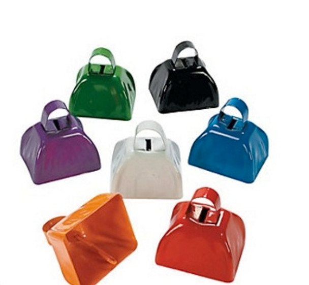 """Small Cowbell Pick Color 12 Pack  3""""  9255"""