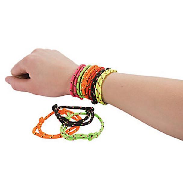 12 PACK Braided Bracelets Friendship Rope Bracelets Bulk 9906D