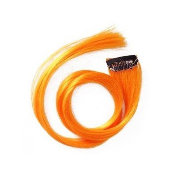 Orange Hair Extensions 12 PACK WS6148D