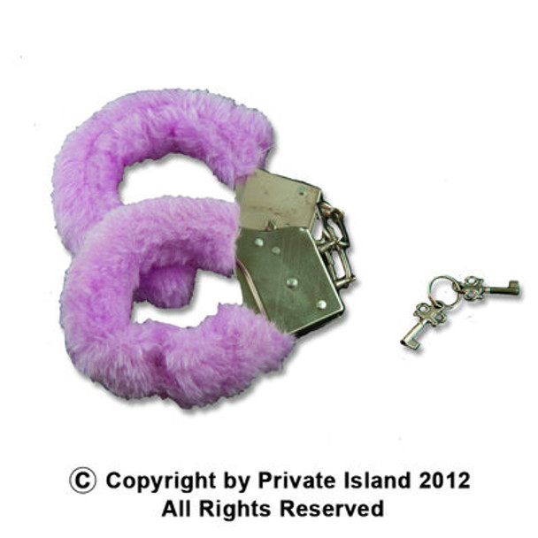 Furry Handcuffs 4 Colors Available 10 PACK