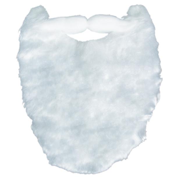 """White Beard /Mustache White Deluxe SANTA 12 PACK  8"""" WS1623D"""
