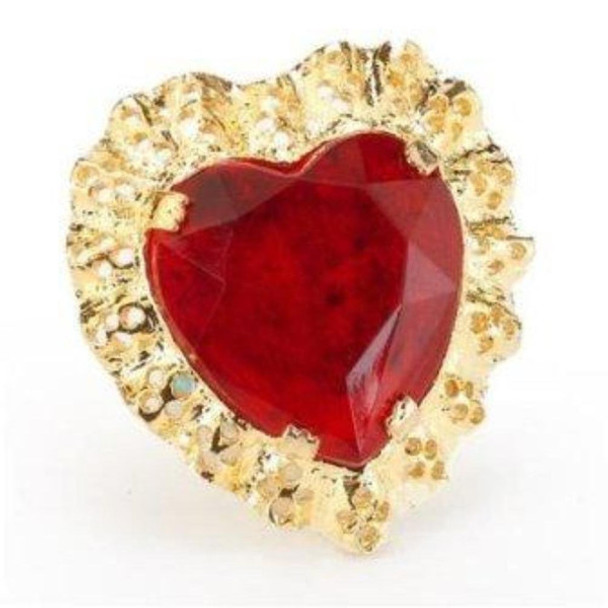 Costume Jewelry Queen Of Hearts Ring 12 PACK WS6563D