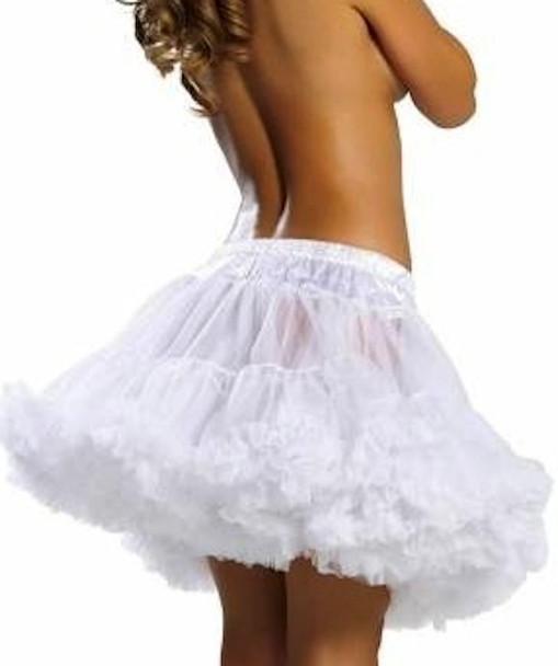 Petticoat Dress   Petticoat Skirt   White 12 PACK