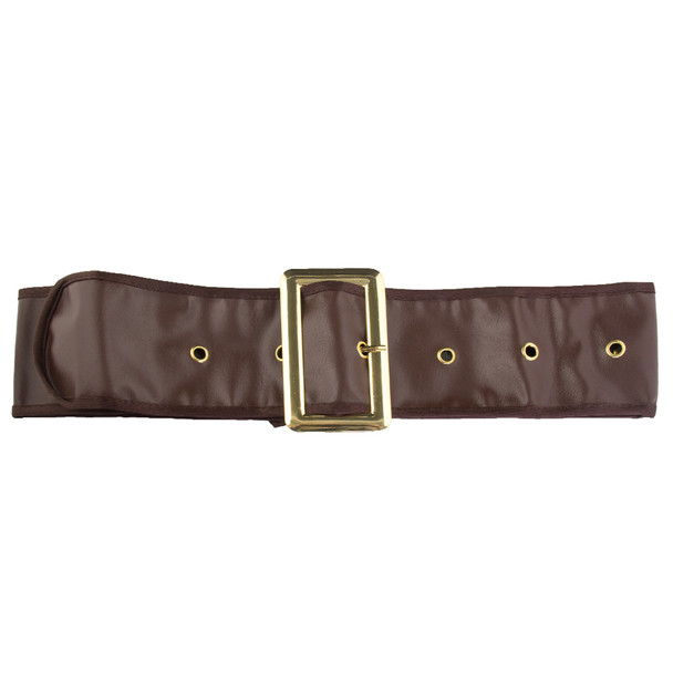 Pirate Brown Belt 12 PACK WS2820D