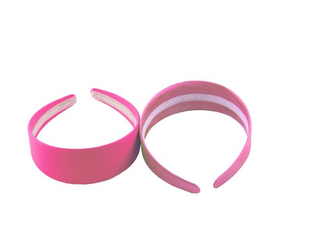 80's Pink Headband 12 PACK  WS06668D