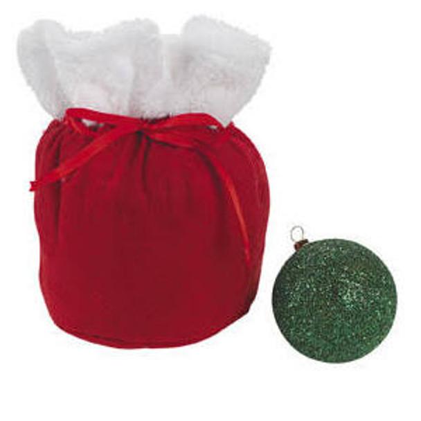 Mini Gift Bags Santa Sacks  6 Count 3944