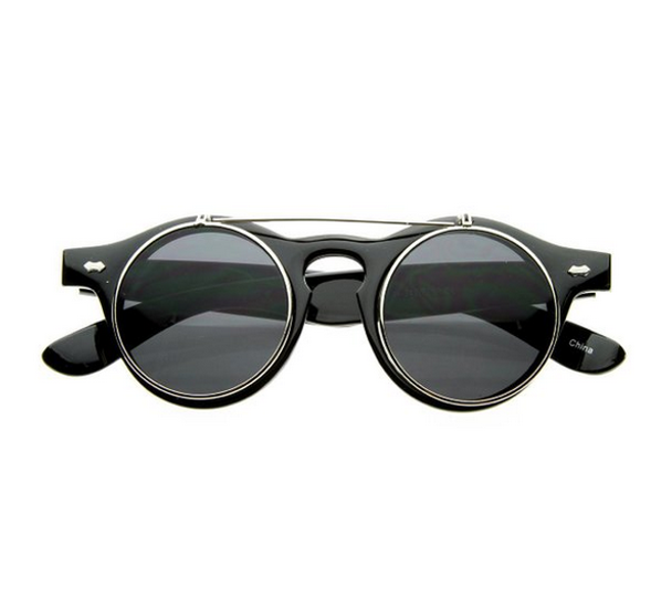 Steampunk Circle Glasses 12PK WS1037