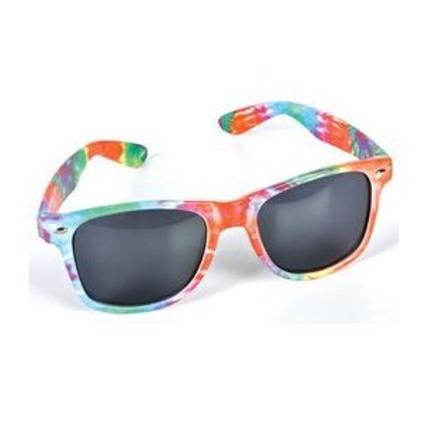 Tie Dye Adult Sunglasses 12 PACK 7151D