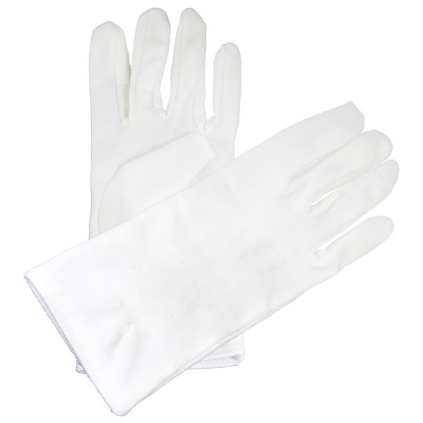 Child White Cotton Gloves 12 PACK  PAIR 5032