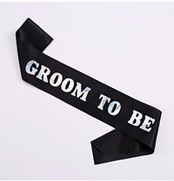 """Wedding Sashes, Personalized For Bridal Party, Wedding Party, Bachelorette, Prom or Homecoming Satin Quality 60"""""""