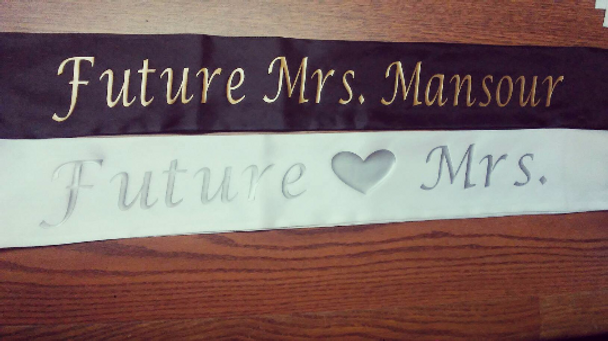 """Birthday Sash, Birthday Girl Sash, for Birthday Parties and Bdays Satin Quality 60"""" (Fonts in Picture Gallery)"""