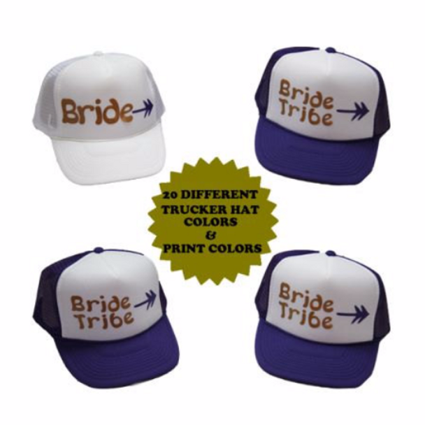 Custom Made Trucker Hat, Personalized Hats | 15061 (Fonts in Picture Gallery)