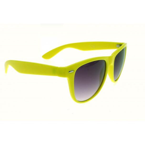 Lime Sunglasses Iconic 80's Sunglasses Adult 16001