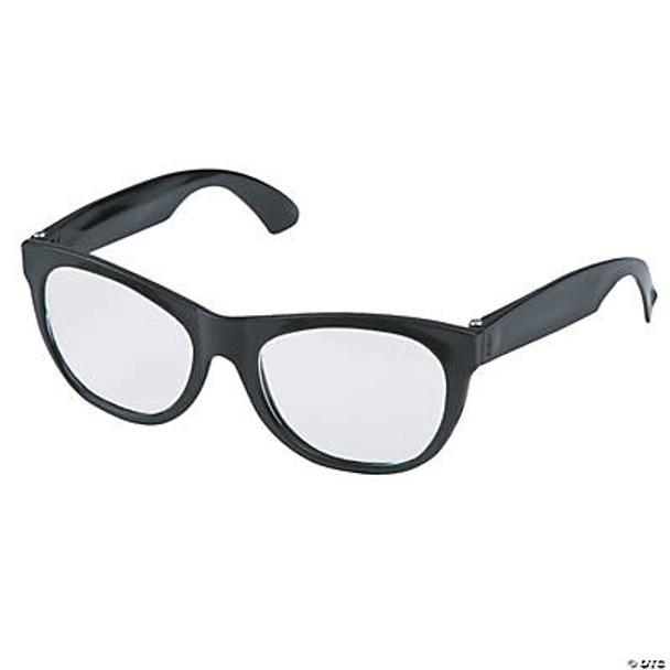 Nerd Glasses Wholesale   Black Clear Glasses Wholesale   12 PACK 1081DZ