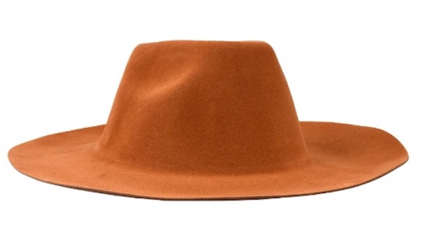 Kids Brown Cowboy Hat   Soft Felt   1566BR