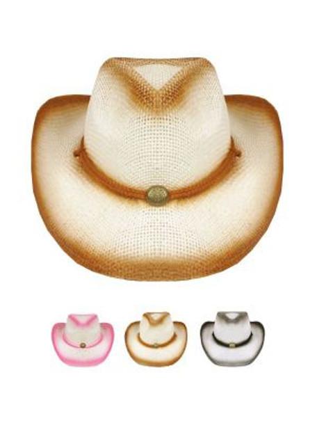 Childrens Cowboy Hats Bulk   12 PACK Theatre Quality 2 Color Choices   1566DM