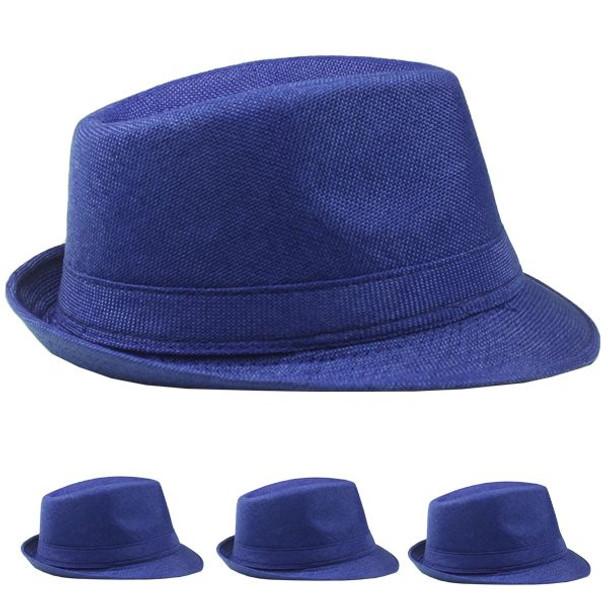 12 PACK Blue Hats Wholesale | Blue Hats Bulk |13322D