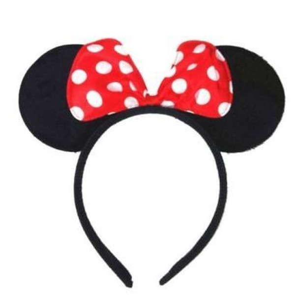 Silver Minnie Ears | Mickey and Minnie Ears | 15003SIL
