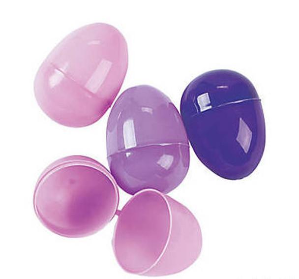 Bulk 144 PCS Purple Easter Eggs 1863P