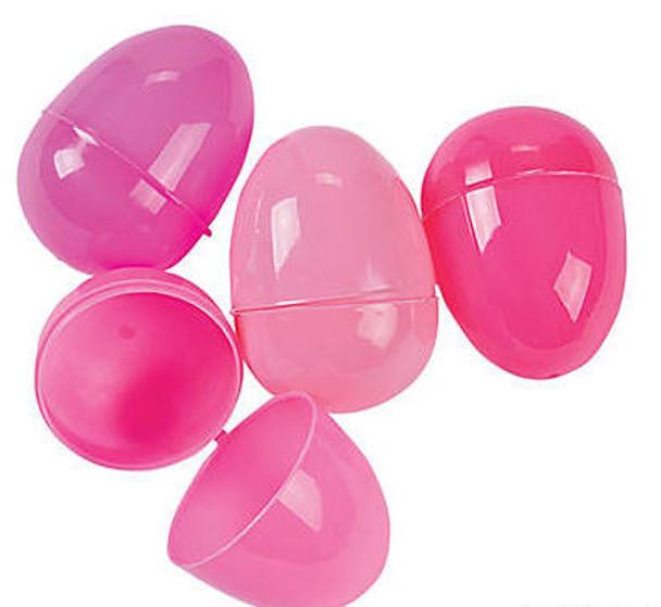 Bulk 144 PCS Pink Easter Eggs 1863PINK